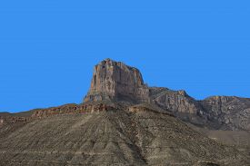 El Capitan Of Guadalupe Mountains National Park In Texas