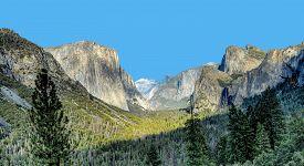 Yosemite Valley In Yosemite National Park Located In California