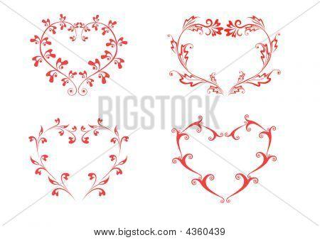 Heart boder