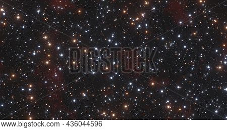 Beautiful Starry Sky, Sky Of Stars, Starry Background, Space Cosmic Background, Stars On The Backgro