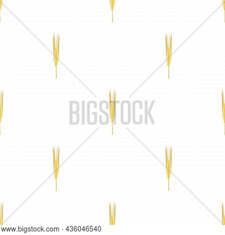 Barley Pattern Seamless Background Texture Repeat Wallpaper Geometric Vector