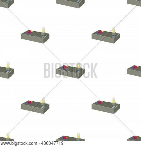 Spectrometer Pattern Seamless Background Texture Repeat Wallpaper Geometric Vector