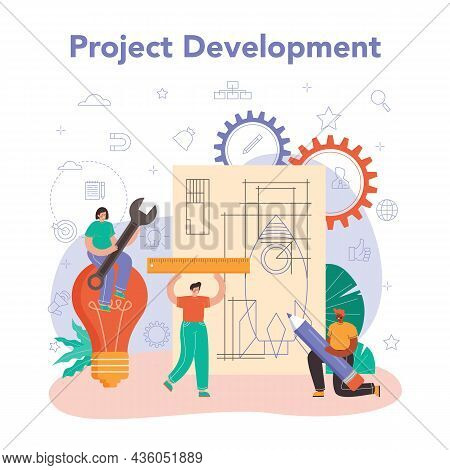 Project Manager. Successful Business Project Planning, Development