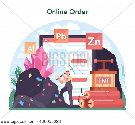 Nonferrous Metallurgy Online Service Or Platform. Ore Extracting