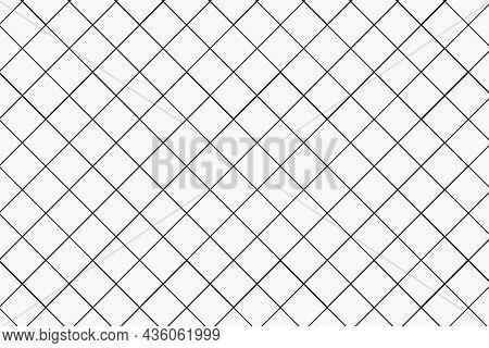 Grid pattern background, minimal black and white simple design