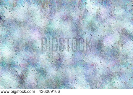 Stained And Grungy Effect Marble Stone With Light Colors. Pattern Background And Texture. . High Qua
