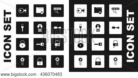 Set Password Protection, Create Account Screen, Unlocked Key, Key, Old, Folder And, Lock Repair And