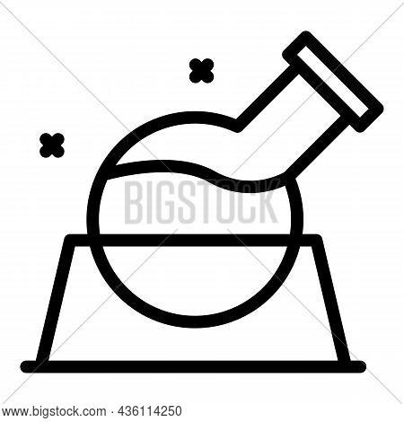 Chemistry Test Icon Outline Vector. Lab Research. Chemical Tool
