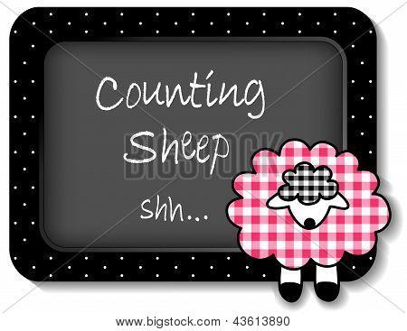 Baby Lamb Nap time Bulletin Board