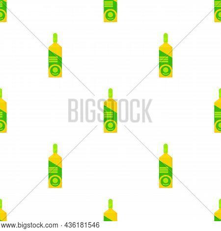 Vodka Pattern Seamless Background Texture Repeat Wallpaper Geometric Vector