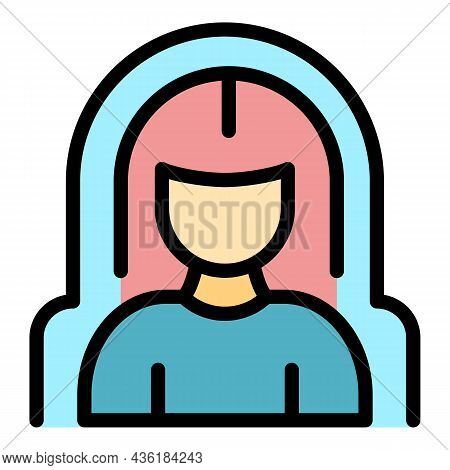 Health Resistance Icon. Outline Health Resistance Vector Icon Color Flat Isolated