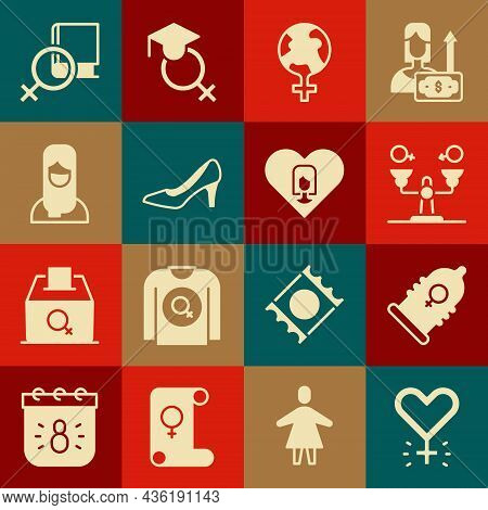 Set Feminism, Condom, Gender Equality, The World, Woman Shoe, Muslim Woman Hijab, Book About Women A