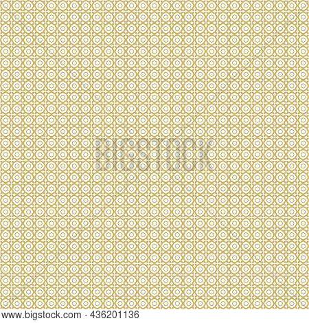 Lisbon Geometric Azulejo Tile Vector Pattern, Portuguese Or Spanish Retro Old Tiles Mosaic, Mediterr