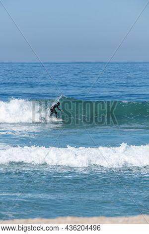 Soul Surfer Girl Riding A Wave