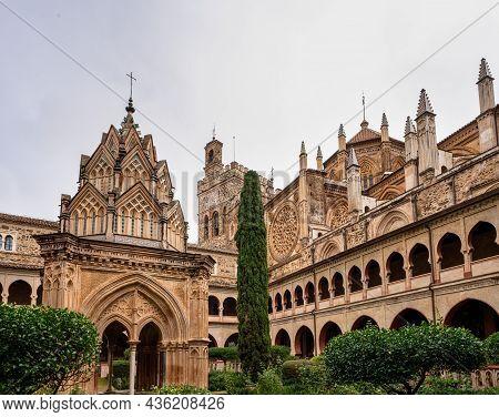 Royal Monastery Of Santa Maria De Guadalupe. Caceres, Spain. Unesco World Heritage Site.