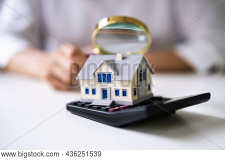 Real Estate House Inspection And Appraisal. Property Insurance