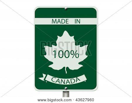 100 Percent Made In Canada