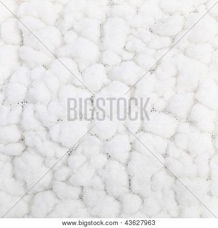 Soft Fluffy White Textile