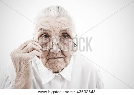Grandmother With Glasses