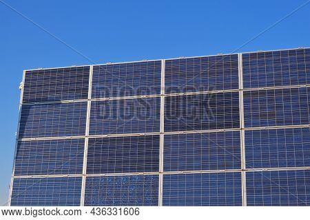 Solar Panels.solar Energy. Renewable Energy. Alternative Renewable Energy From Nature.solar Technolo