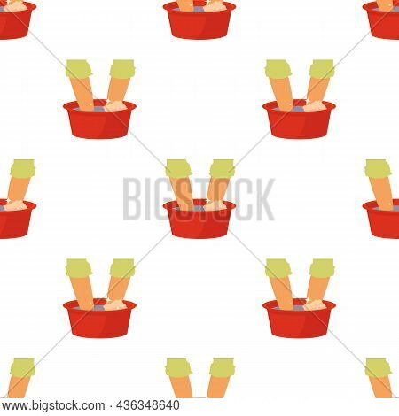 Washing In The Basin Pattern Seamless Background Texture Repeat Wallpaper Geometric Vector