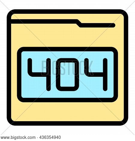 Tech Support Icon. Outline Tech Support Vector Icon Color Flat Isolated