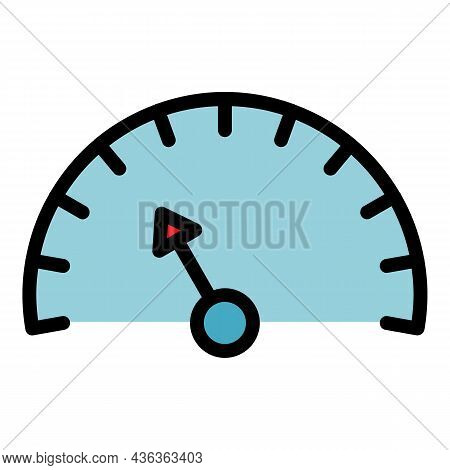 Speed Access Interface Icon. Outline Speed Access Interface Vector Icon Color Flat Isolated