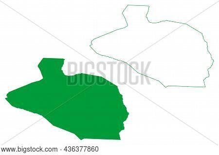 Ourolandia Municipality (bahia State, Municipalities Of Brazil, Federative Republic Of Brazil) Map V