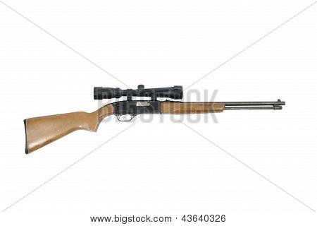 Scoped Hunting Rifle