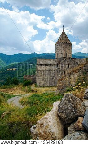 The Tatev Monastery, Armenia, About Ix Century, Big Building Is Church Of St. Poghos And Petros, Abo