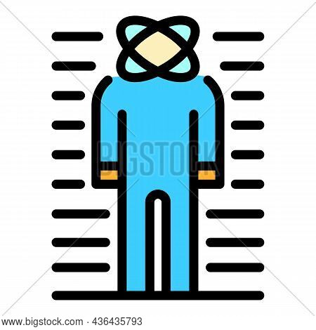 Emotional Man Icon. Outline Emotional Man Vector Icon Color Flat Isolated