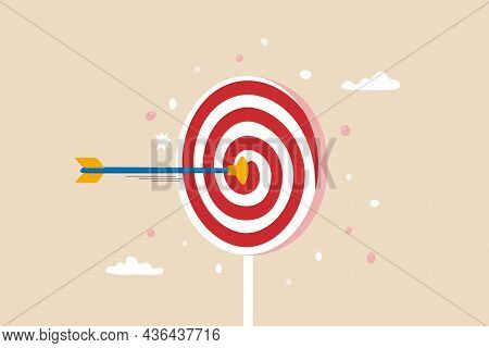 Aiming For Children Education Target, Parenting Or Kid Knowledge Or Skill, Humor Business Target Or