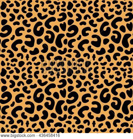 Leopard, Cheetah Spotted Background, Leopard Seamless Pattern Design, Background