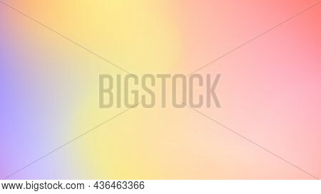 Beautiful Juicy Gradient Background. The Transition Of Colors From Purple To Pink. Horizontal Backgr