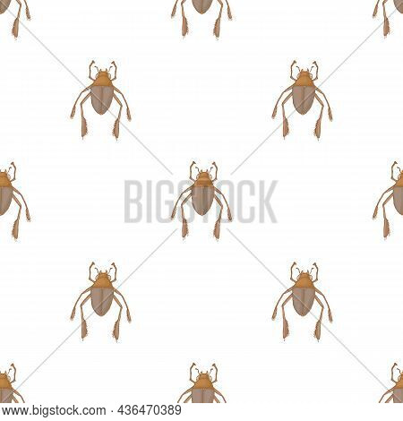 Insect Bug Pattern Seamless Background Texture Repeat Wallpaper Geometric Vector