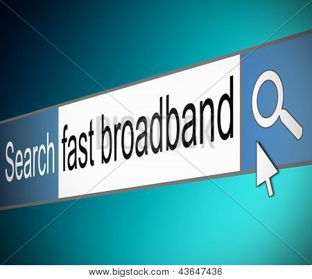 Broadband Search.