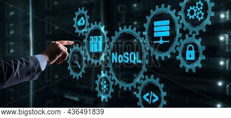 Structured Query Language. Database Technology Concept. Nosql