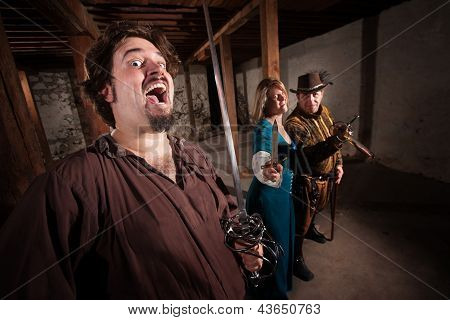 Crazy Swashbucklers With Weapons