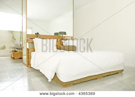 Bed In Resort