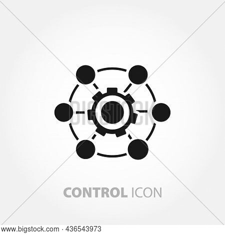 System Control Icon. Engine Performance Icon. System