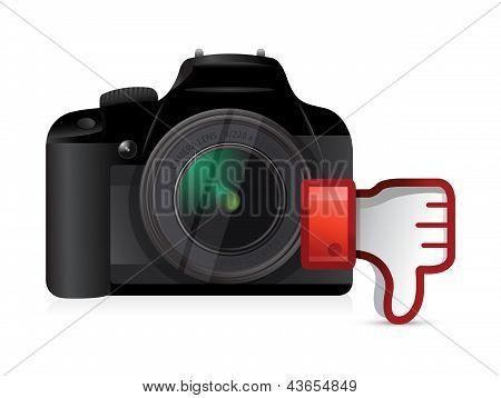 Camera Thumbs Down Dislike