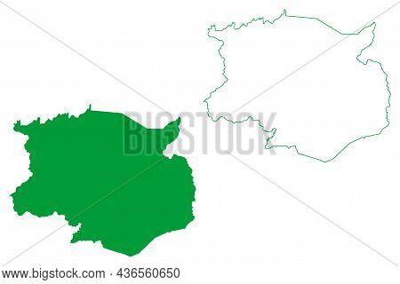 Campo Formoso Municipality (bahia State, Municipalities Of Brazil, Federative Republic Of Brazil) Ma
