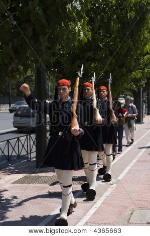 Athens Landmark - Guardians