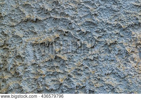 Gray Rough Old Concrete Wall Texturustic Surface Textured Surface Of Cement Plaster With Small Crack