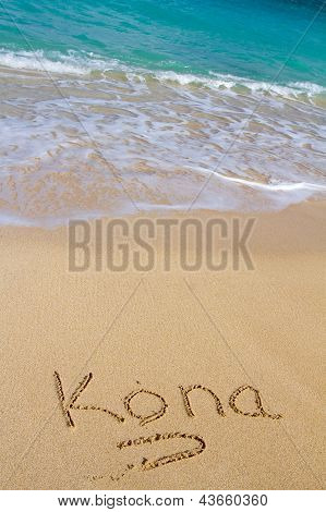 Kona Sand And Water