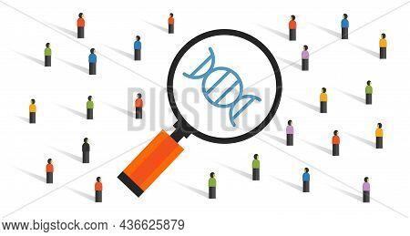 Public Looking At Gene Editing Crispr-cas9 Technology Dna Molecular Biology