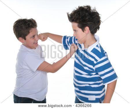 Little Friends Fighting