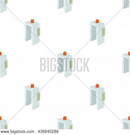 Metal Detector Pattern Seamless Background Texture Repeat Wallpaper Geometric Vector