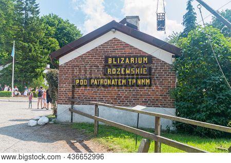 Rozewie, Poland - July 21, 2021: Rozewskie Blisarium Under The Patronage Of The Society Of Friends O