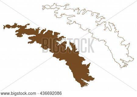 South Georgia Island (south Sandwich Islands, South And Latin America, United Kingdom Of Great Brita